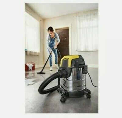 £58.99 • Buy Parkside Wet & Dry Vacuum Cleaner PWD 12 A1 1200w 12L 2M Suction Hose
