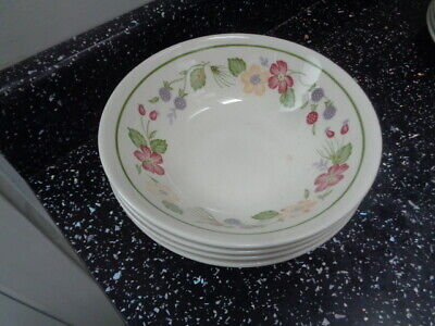 £20 • Buy Staffordshire Biltons/woolworths Country Lane Cereal Bowls X 4