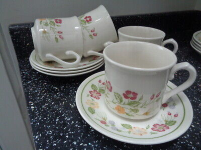 £20 • Buy Staffordshire Biltons/woolworths Country Lane Cups And Saucers X 4