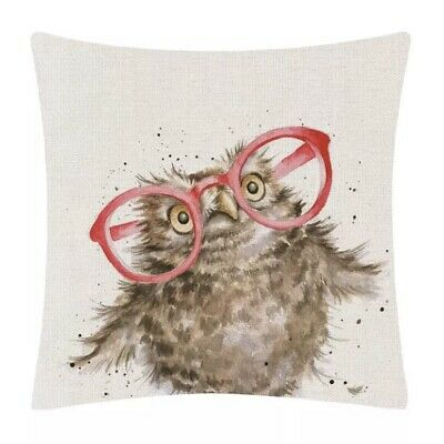 £12 • Buy Countryside Designs Cushion Cover - Countryside Animal Owl