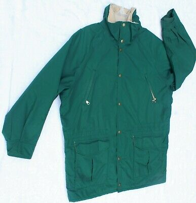 $89 • Buy Vintage LL BEAN Maine Wardens Parka Mens Large Gore-Tex Jacket Made In USA VGC