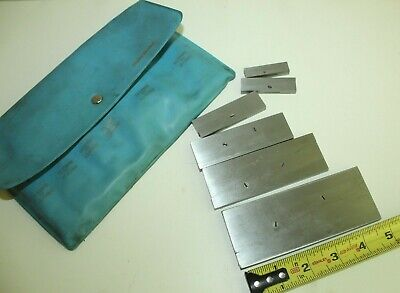 $50 • Buy H) Lot Of 6 Adjustable Parallels - Made In USA - Machinist Tools