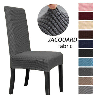 £4.15 • Buy Stretch Chair Covers Slipcover Washable Waterproof Long Back Dinning Seat Covers