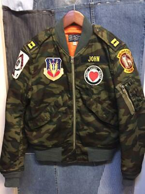 $349.99 • Buy Buzz Rickson L-2B 388th Tactical Fighter Wing Camouflage FLight Jacket ( Size M)