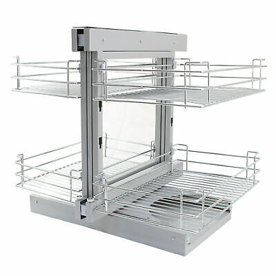 £169.99 • Buy Magic Corner Kitchen Baskets Pull Out Right Hand Slide Out Wire Storage B0872