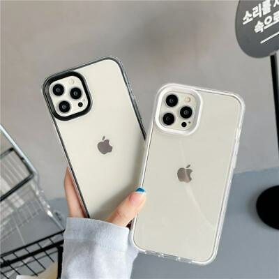 AU7.35 • Buy 3 In 1 Clear Transparent Soft Phone Cover Case For IPhone 12 Pro Max 7+ 11 XS XR