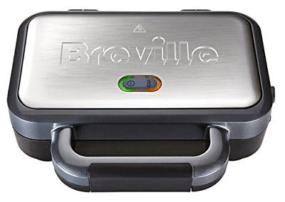 £34.57 • Buy Breville Deep Fill Sandwich Toaster And Toastie Maker With Removable Plates,