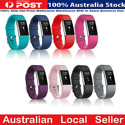 AU4.99 • Buy Fitbit Charge 2 Bands Replacement Silicone Gel Strap Bracelet Wristband Sport AU