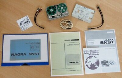 £8424.55 • Buy 1 X NAGRA SNST Stereo - SET ! MINT As NEW CONDITION ! TOP ! RAR !
