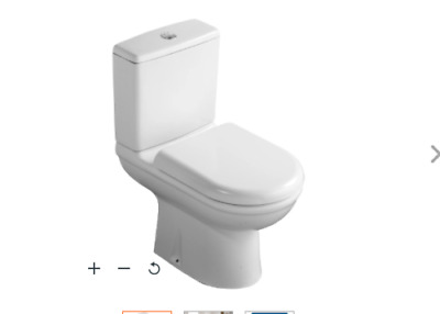 £89.50 • Buy Ideal Standard Tempo Soft Toilet Seat & Cover For Short Projection WC - T679901
