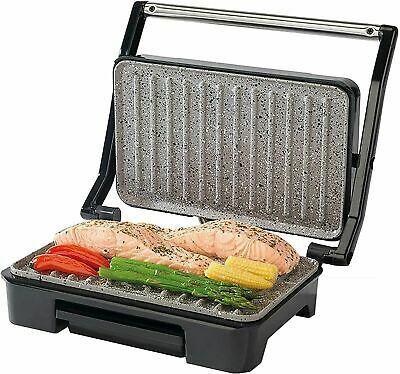 £29.99 • Buy Salter Marble Collection Health Grill Panini Maker Sandwich Press Stainless Stee