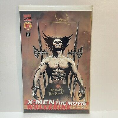 £7.99 • Buy X-Men The Movie Prequel Wolverine Dynamic Forces Signed Cover With COA - Marvel