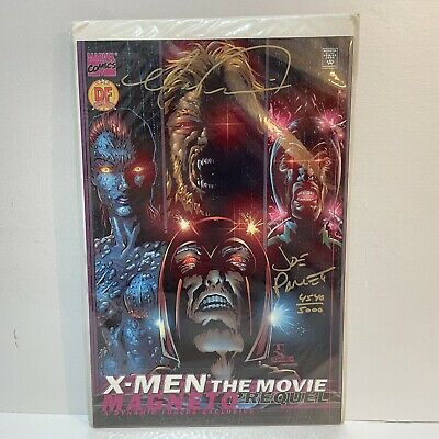 £7.99 • Buy X-Men The Movie Prequel Magneto Dynamic Forces Signed Cover With COA - Marvel