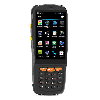 £146.86 • Buy Barcode Scanner Android PDA Handheld POS Terminal Inventory Machine L6V1