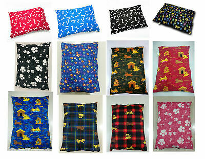 £6.49 • Buy Dog Bed Pet Supplies Large Extra XL Size Zip Cover With Inner