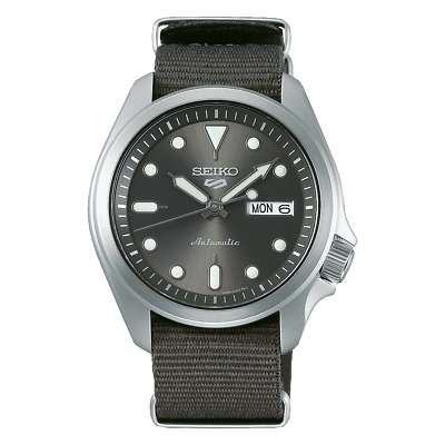 $ CDN232.89 • Buy Seiko 5 Sports 40mm SS Grey Dial And Nylon Strap Automatic Watch - SRPE61K1
