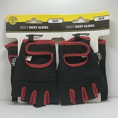 £12.90 • Buy GOLDS GYM Training Gloves Workout Weightlifting Tacky Mens XS Small Lot Of 2
