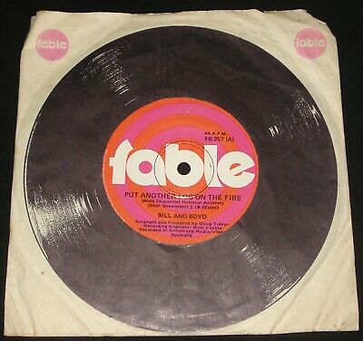 £2.67 • Buy BILL & BOYD FABLE 45 - PUT ANOTHER LOG ON THE FIRE  –   1970s  POP