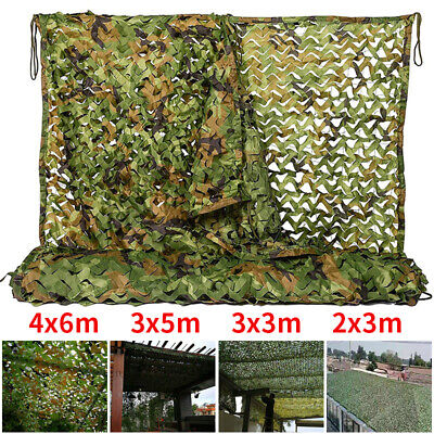 £14.99 • Buy Camouflage Netting Camo Net Fence Hunting Shooting Camping Army Green Hide Cover