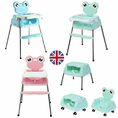 £22.99 • Buy Adjustable 5-In-1 Baby Highchair Infant High Feeding Seat Toddler Table Chair UK