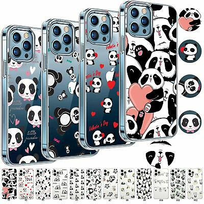 £3.99 • Buy Panda Shockproof Tpu Case Phone Cover For IPhone 12 11 Pro Max XR SE 6s 7 8 IPod