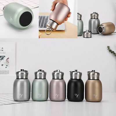 £10.29 • Buy Mini Thermos Cup Small Drink Mug Travel Stainless Steel Vacuum Flask Coffee Cup