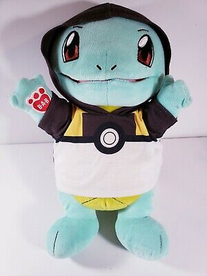 $29.99 • Buy Build-a-Bear BAB Pokemon: SQUIRTLE W/ Hoodie Plush Toy - No Sound / Card - GC