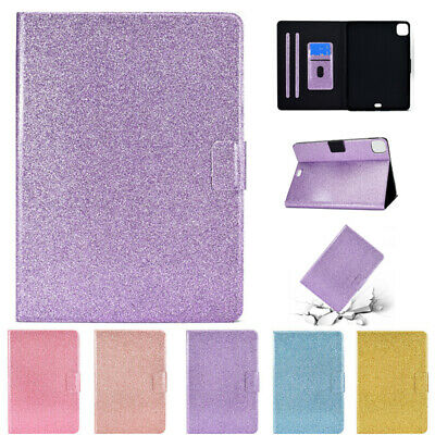AU20.49 • Buy For IPad 5/6/7/8th Gen Mini Air 2 3 4 Pro Flip Glitter Leather Stand Case Cover