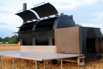 £12500 • Buy Offset Smoker Bbq | Trailer Mounted | Catering