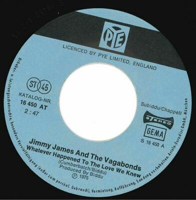 £10 • Buy Jimmy James & The Vagabonds - What Happened To The Love We Knew
