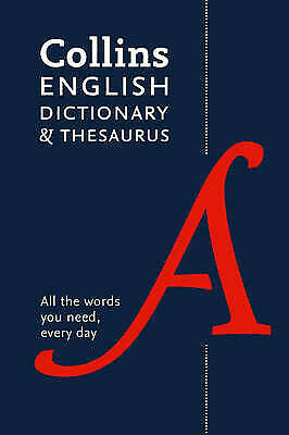£7.99 • Buy Collins English Dictionary And Thesaurus Essential