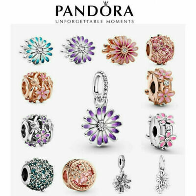 AU19.88 • Buy 2021 New Genuine Pandora Daisy Charm S925 ALE Sterling Silver & With Gift Box