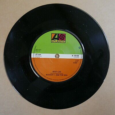 £5 • Buy 45rpm 7  Single BOOKER T AND THE MG`S Green Onions / Boot Leg