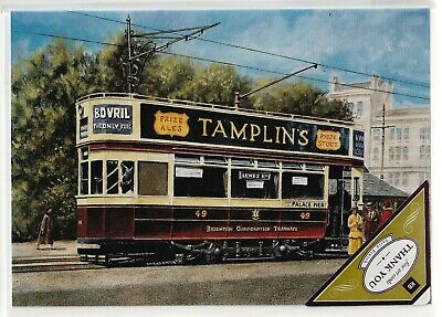 £1.90 • Buy Brighton Corporation Tram (no. 49 Open Top) – Kb Fine Art Cards – Thank You Card