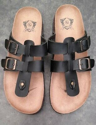 £8.50 • Buy Cedarwood State Mens Toe Post Sandals - Size 9  (43 )  * New *