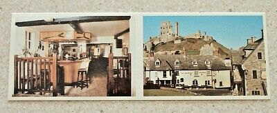 £2 • Buy The Greyhound Inn, Corfe Castle.  Rick & Jane Wild Welcome You  Pictorial Card