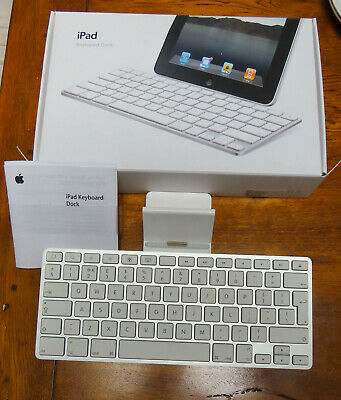 £16.96 • Buy Apple A1359 IPad Keyboard Dock 1st 2nd 3rd Generation Sill Boxed