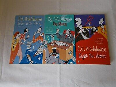 £14.99 • Buy P. G. Wodehouse 3 Penguin  Paperback Book Collection Jeeves In The Offing Etc