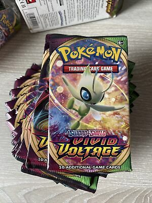 £59.99 • Buy POKEMON VIVID VOLTAGE Sword And Shield BOX 18 Packets Of Trading Cards Brand New
