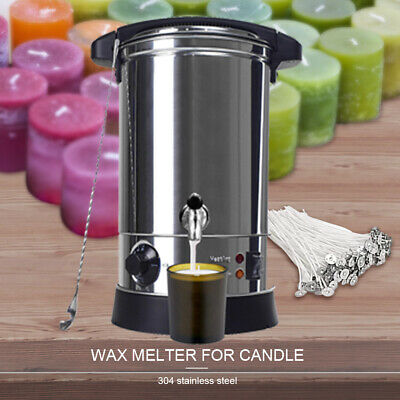 $84.99 • Buy Wax Melter For Candle Making  Electric 6.5L Wax Melting Pot Machine Temperature