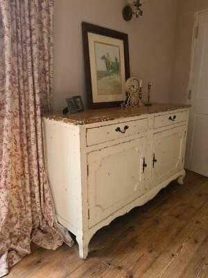 £275 • Buy Nicky Cornell French  Distressed Painted Sideboard Chic