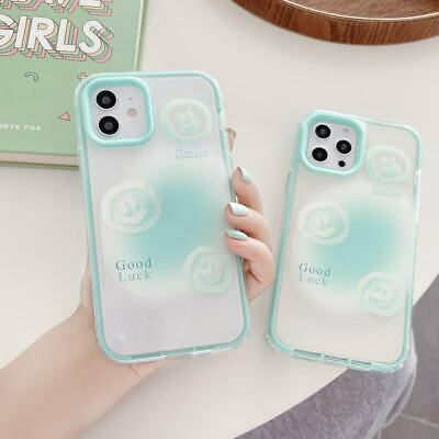 AU7.72 • Buy 3 In 1 Smile Face Soft+PC Phone Cover Case For IPhone 7/8+ 11 12 Pro XS Max XR