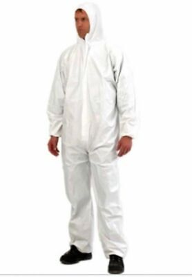 £6.74 • Buy Pro Safety Gear Provek PPE Disposable Coverall Overall Suit, Large, Painting