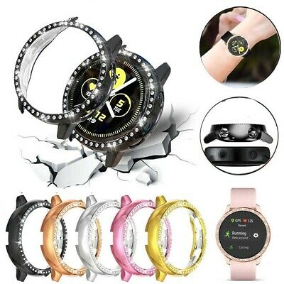 £2.99 • Buy For Samsung Galaxy Watch Protector Case Frame Diamond Accessories Stylish Cover