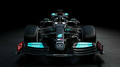 £18.99 • Buy F1 Mercedes 2021 Car Racing Sport Home Decor Wall Art Poster/Canvas Picture