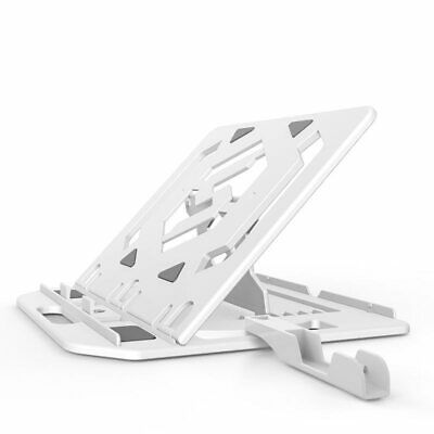 £15.86 • Buy Laptop Stand With Phone Holder For HP Dell Macbook Air Pro Matebook ASUS ACER
