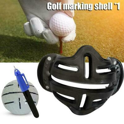 £2.04 • Buy Golf Ball Stencil Template Drawing Putting Line Pen Marker Fast