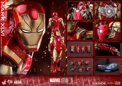 $ CDN704.96 • Buy Hot Toys - Ironman Mark 46(cca) Diecast - Mms489 - In Sealed Brown Box - New