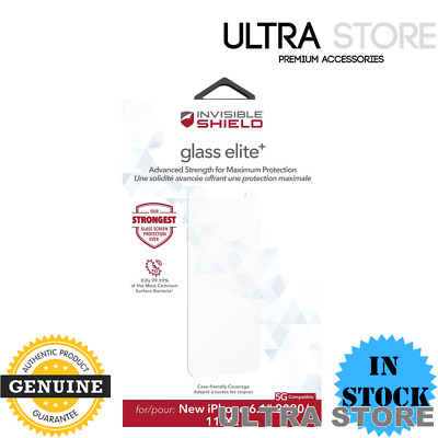 AU35.95 • Buy ZAGG InvisibleShield Glass Elite+ Screen Protector For Apple IPhone 12 / 12 Pro