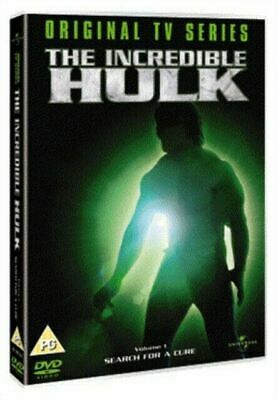 £3.99 • Buy The Incredible Hulk: Volume 1 - Search For A Cure  DVD  ...lou Ferrigno..